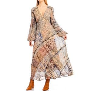 Free People NWT Size 12 Moroccan Dream Maxi Dress